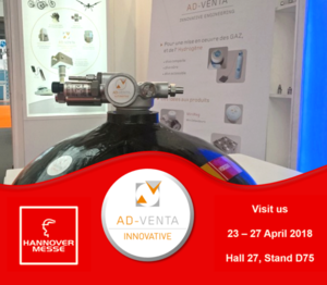 We exhibit at the Hannover Messe 2018