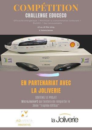Partenariat avec l'école La Joliverie